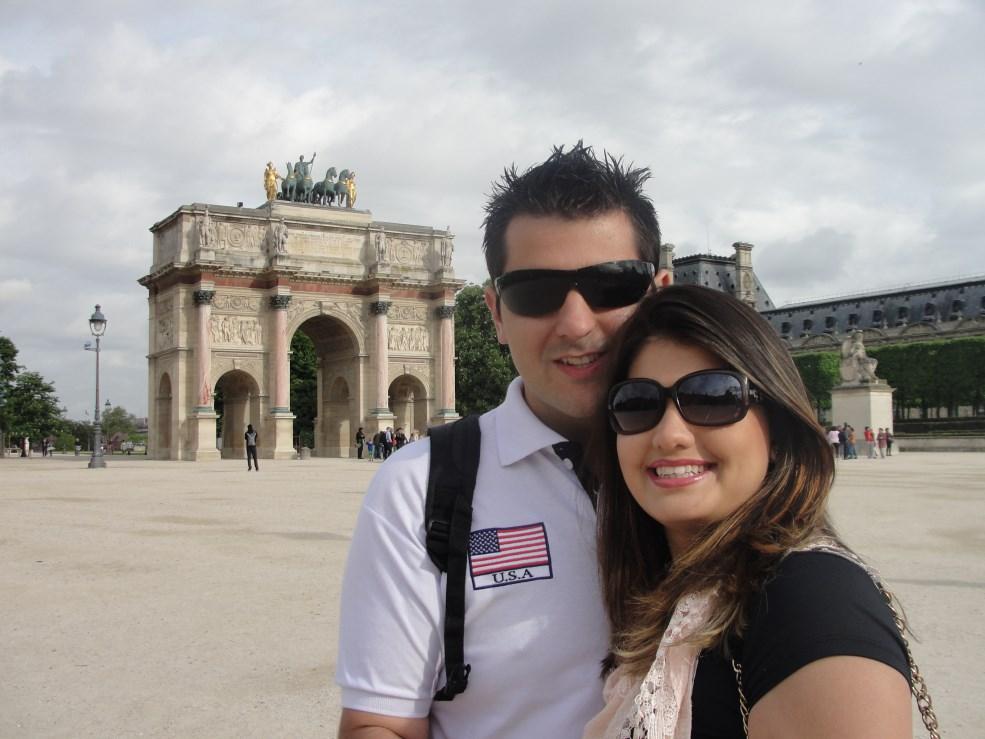 2 Arco do Triunfo Louvre