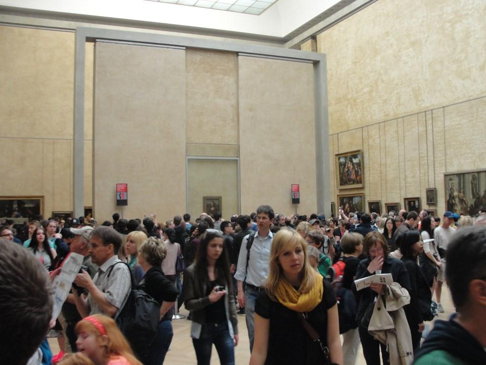 4 Monalisa no Louvre