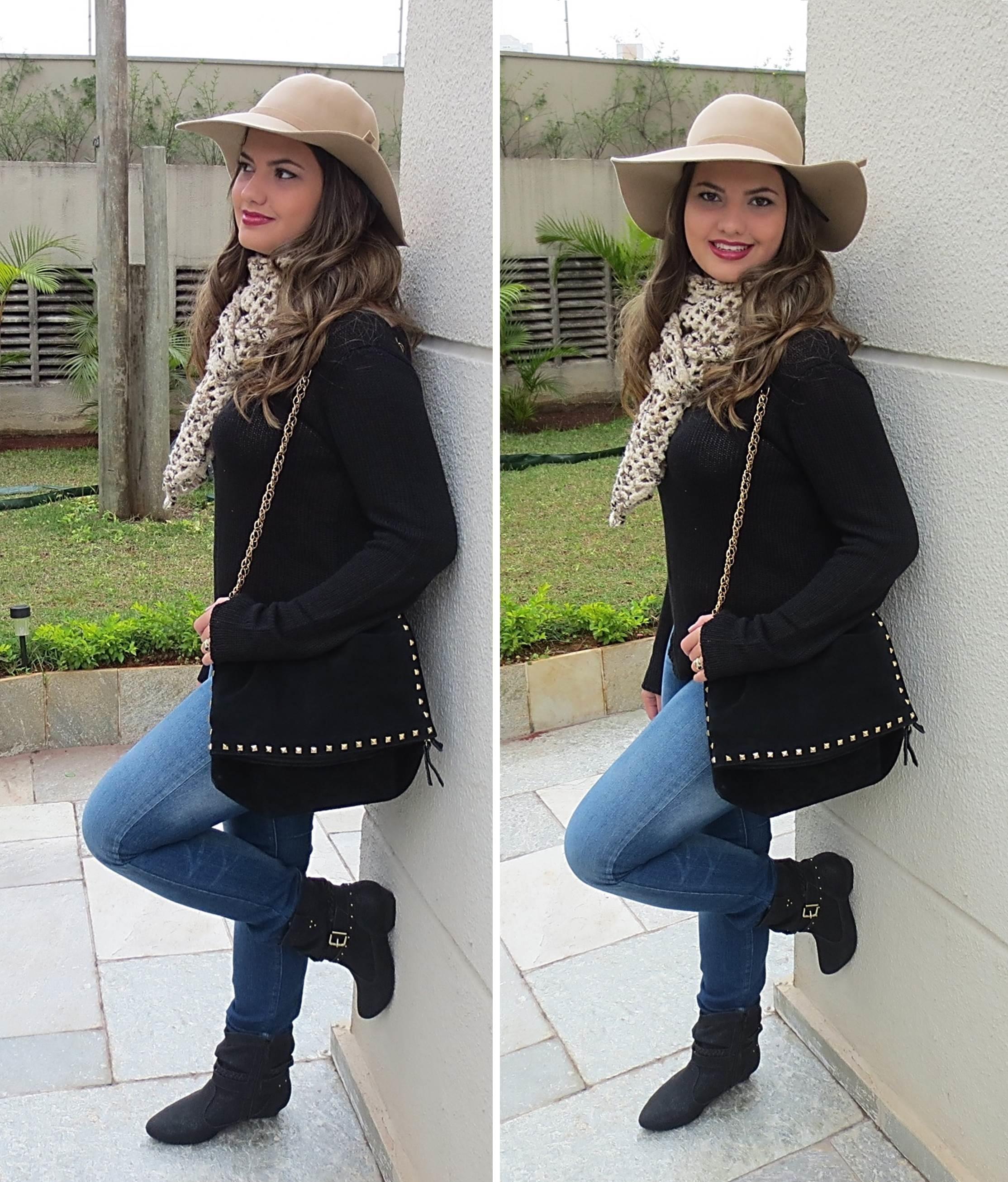 Look do dia - Chapéu para o inverno - Vaidosa e Feminina 00aa23c96db