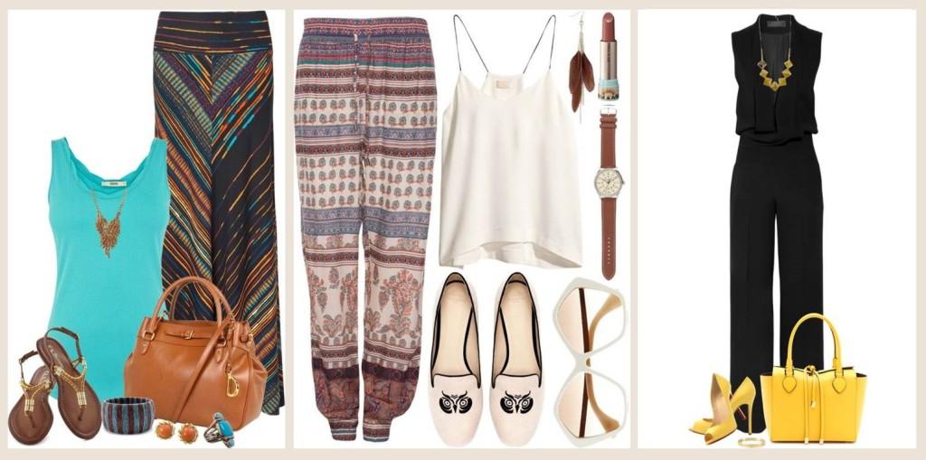 Look Verão Pantalona e Macacão 1