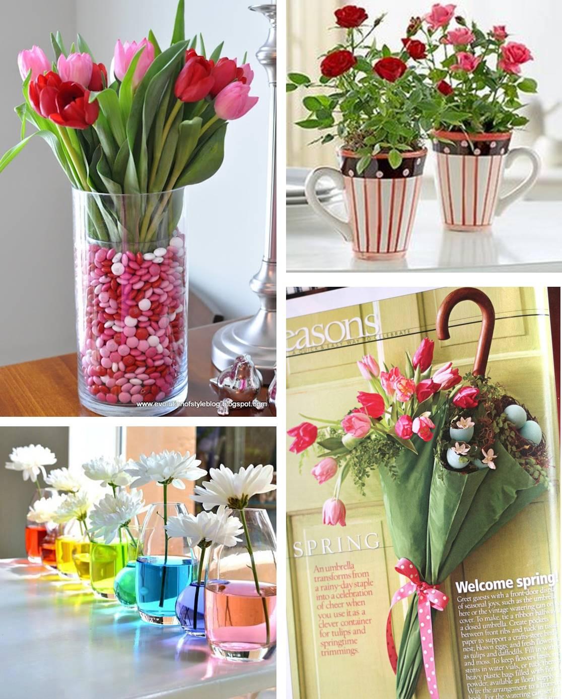 Well-known Decorações com flores fáceis de fazer em casa - Vaidosa e Feminina KO62