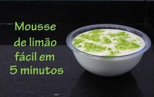 Mousse de limão fácil 2