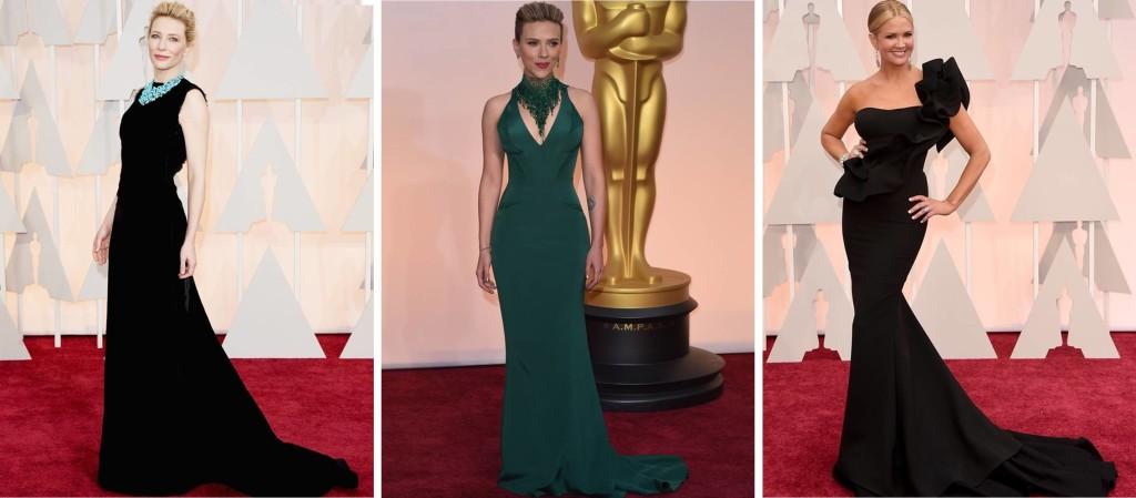 Preferidos Oscar 2015 Catte Blanchett Scarlett Johansson Nancy O'Dell