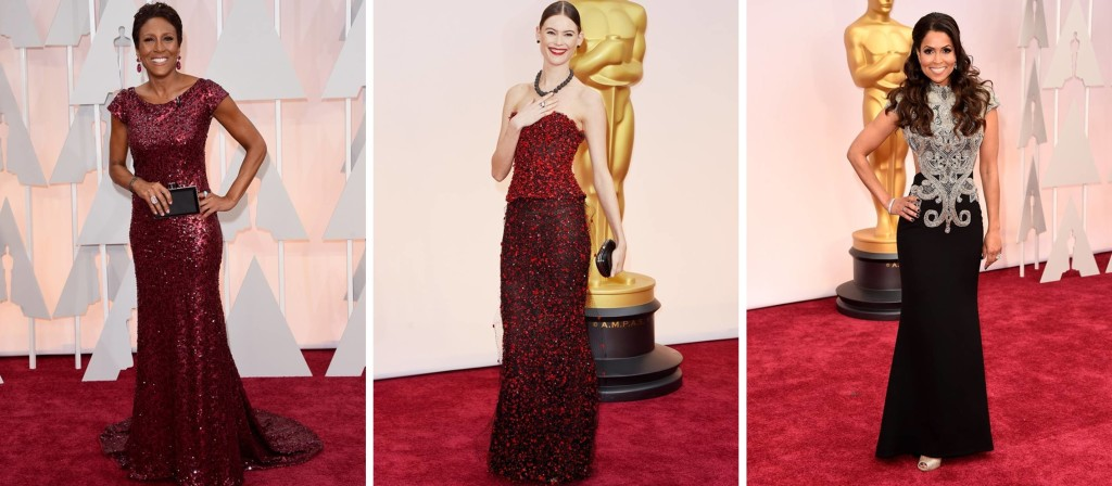 Preferidos Oscar 2015 Robin Roberts Behati Prinsloo Tracey Edmonds