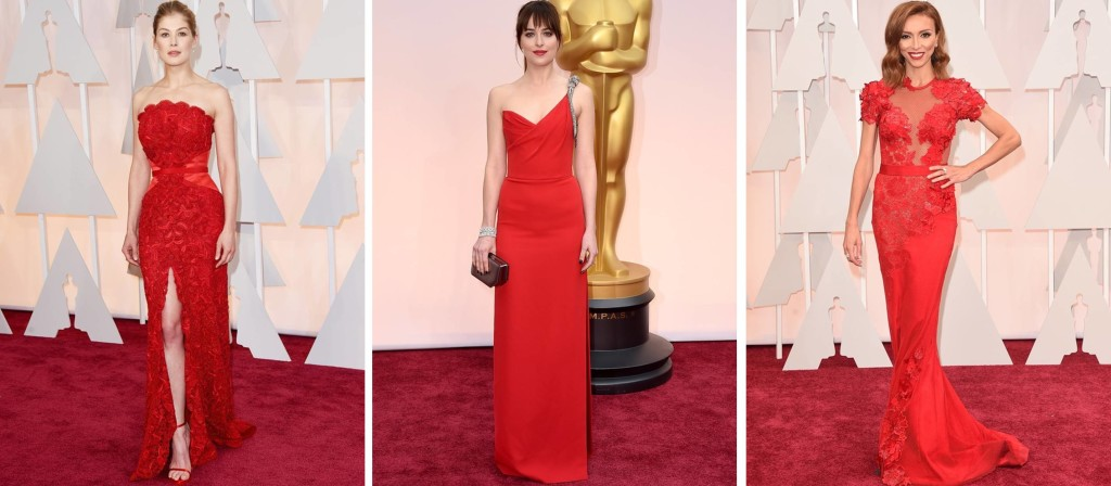 Preferidos Oscar 2015 Rosamund Pike Dakota Johnsin Giouliana Rancic