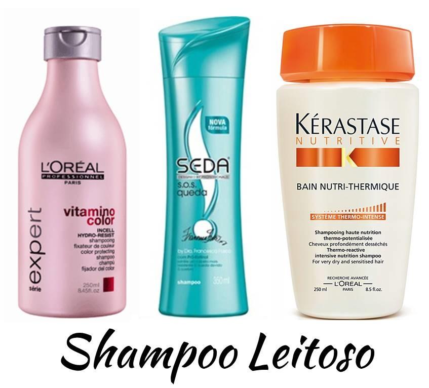 Shampoo Leitoso
