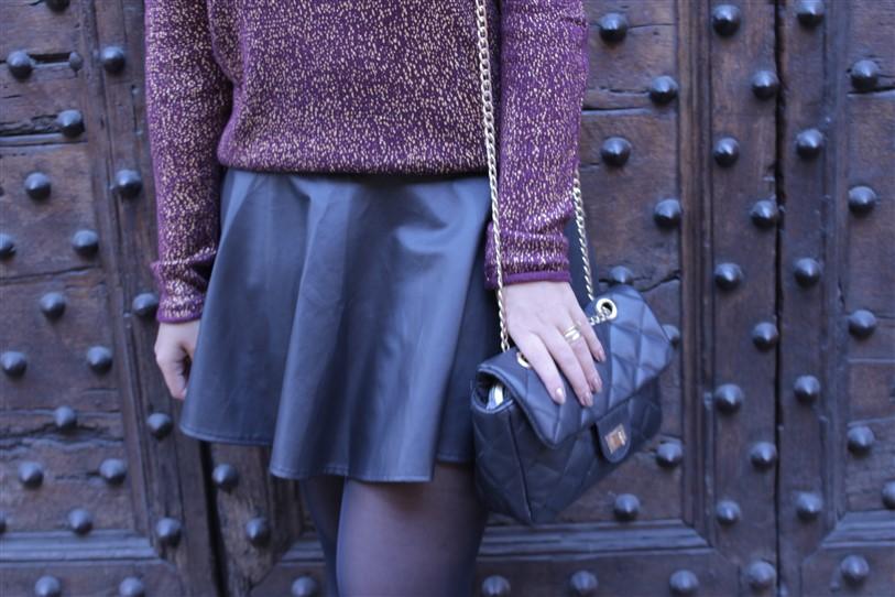 Look saia de couro preta (4)