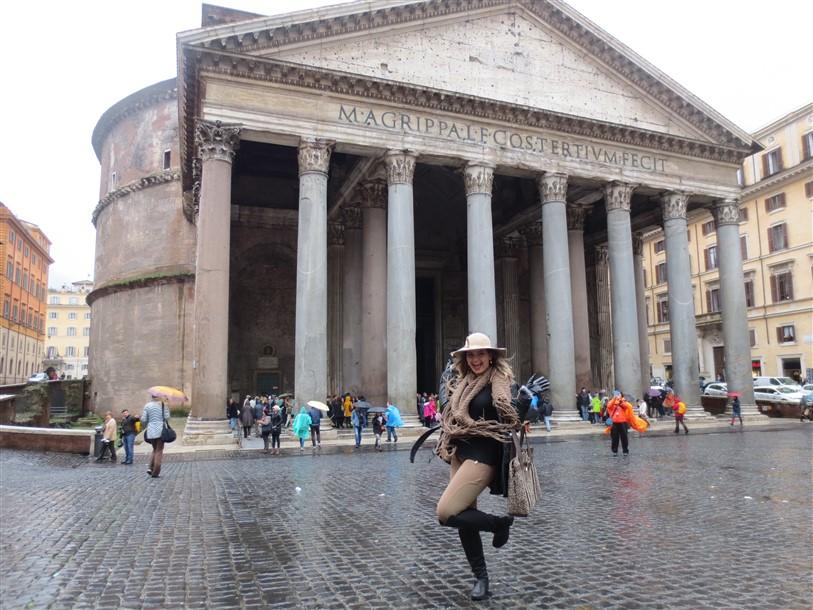 Roma Vaticano Papa e Pantheon (4)