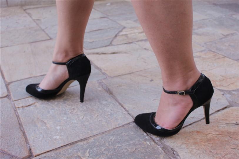 Look vestido preto e branco arabescos (9)