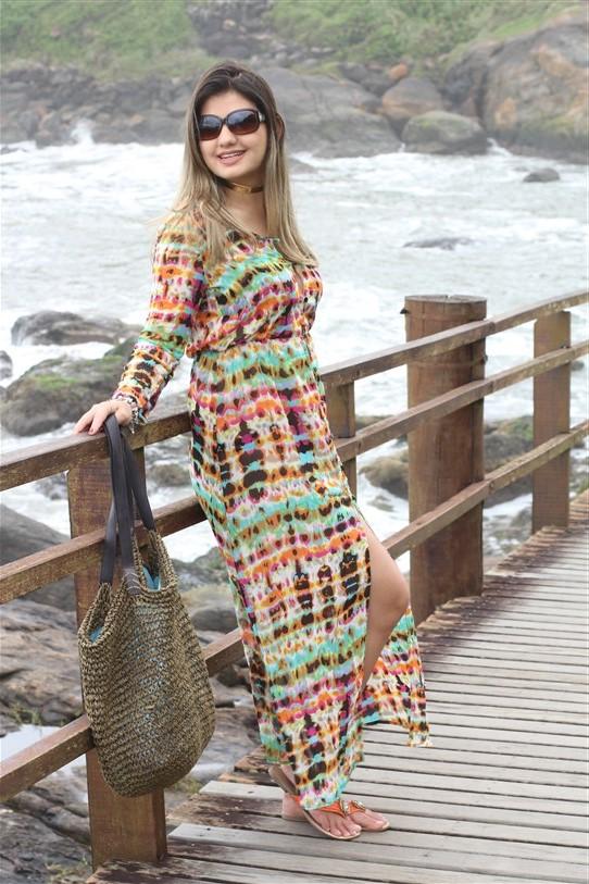 Vestido chemisier longo (2)