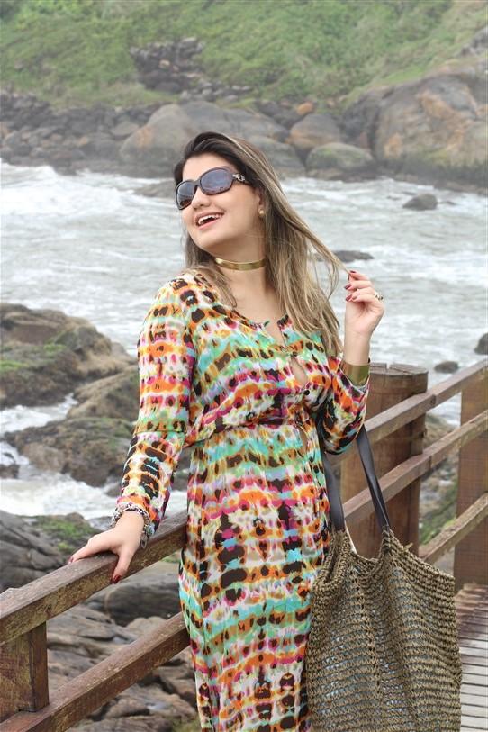 Vestido chemisier longo (4)