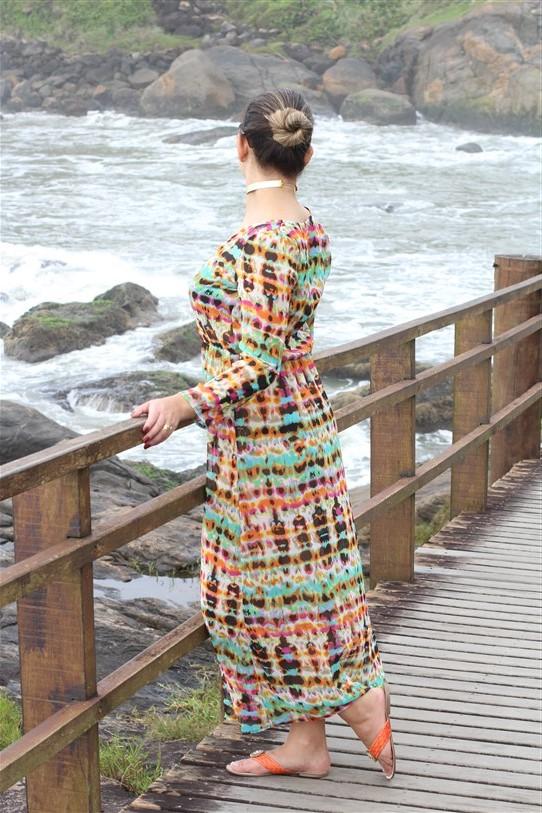 Vestido chemisier longo (5)