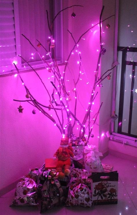 DIY - Como fazer árvore de Natal (9)