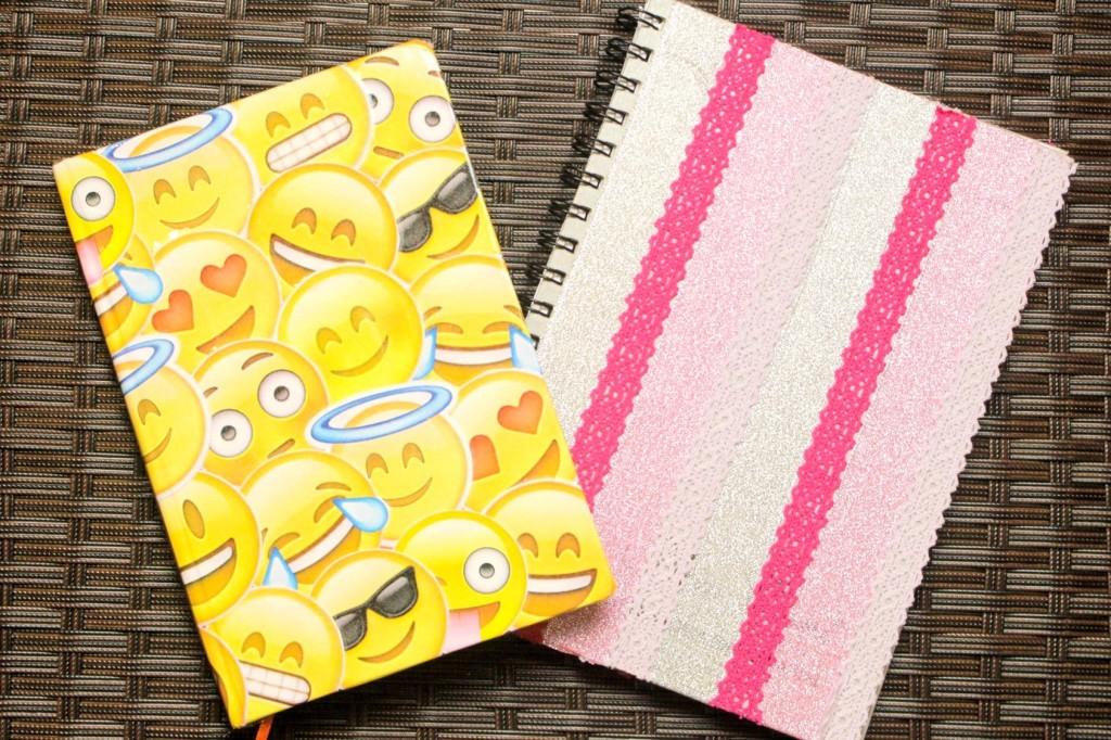 Volta as aulas Customização de cadernos 7