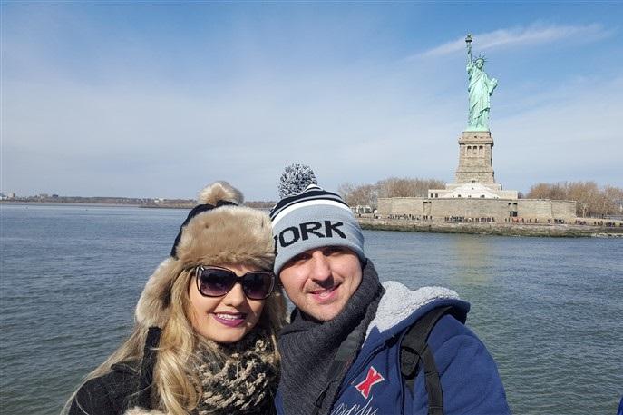 Nova York Estátua da Liberdade (2)
