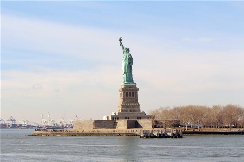 Nova York Estátua da Liberdade (4)