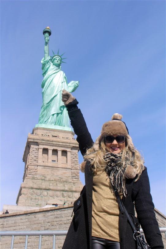 Nova York Estátua da Liberdade (5)