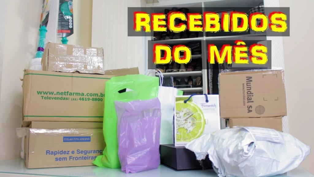 RECEBIDOS DO MES
