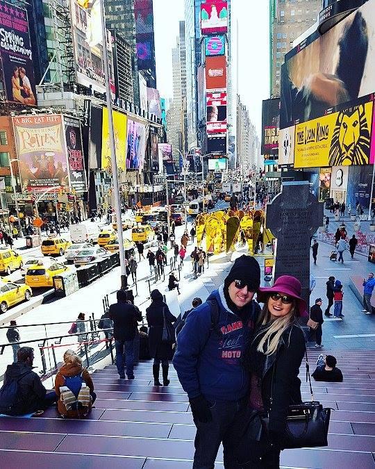 Times Square Vlog Nova York