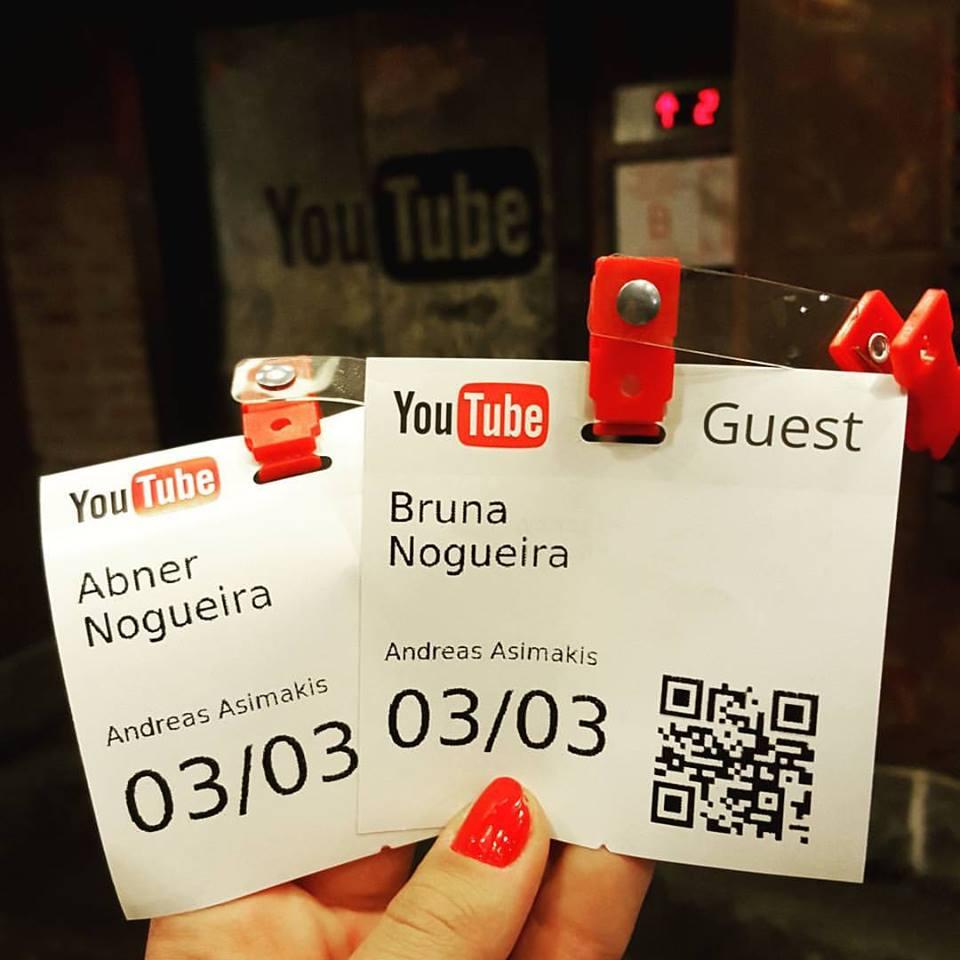 Youtube Space NY Vlog Nova York