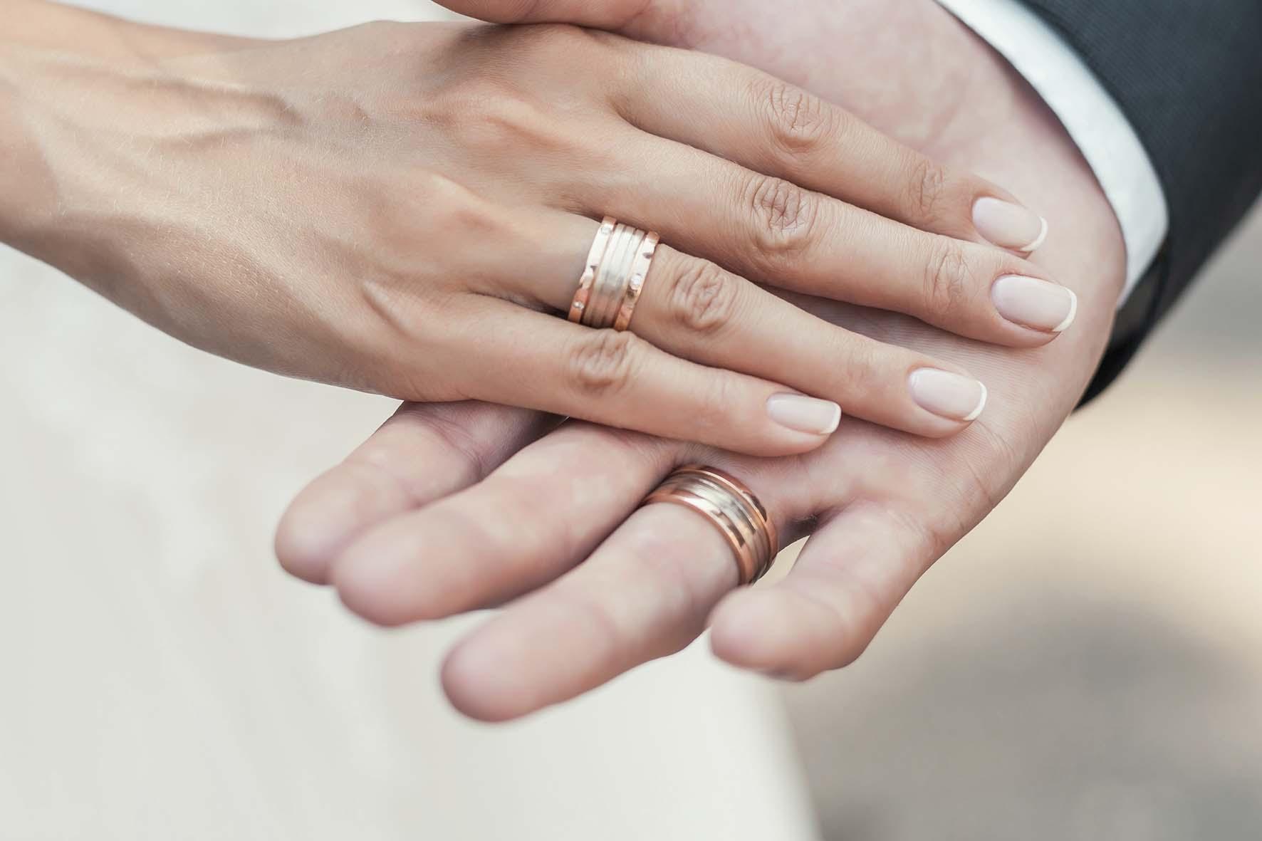 Alianças de casamento 3