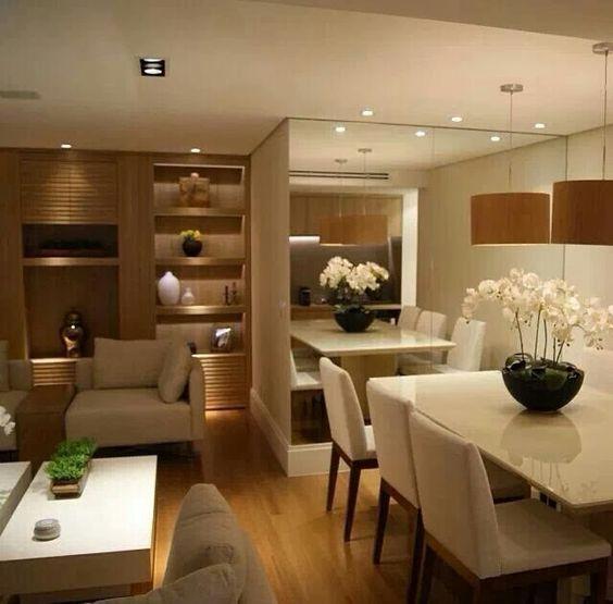 inspira o sala de jantar clean vaidosa e feminina. Black Bedroom Furniture Sets. Home Design Ideas