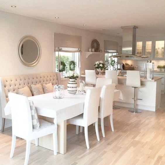 Kitchen Chairs Ireland: Inspiração: Sala De Jantar Clean