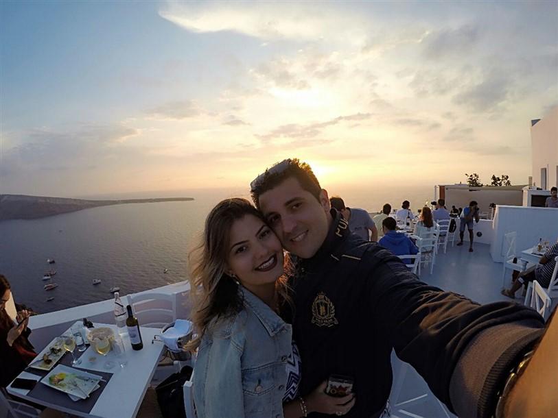Roteiro de 3 dias em Santorini 2 dia (15) pôr do sol em Oía