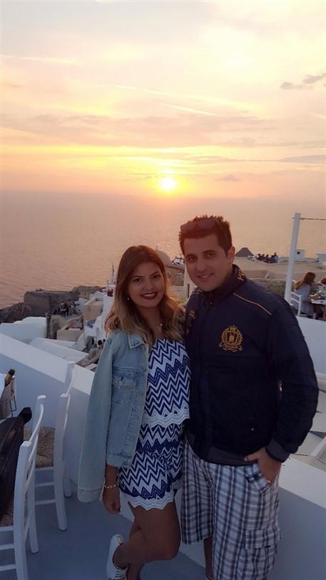 Roteiro de 3 dias em Santorini 2 dia (16) pôr do sol em Oía