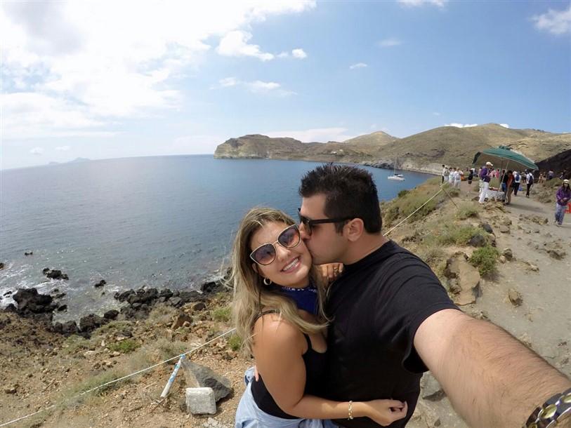 Roteiro de 3 dias em Santorini 2 dia (25) Red Beach