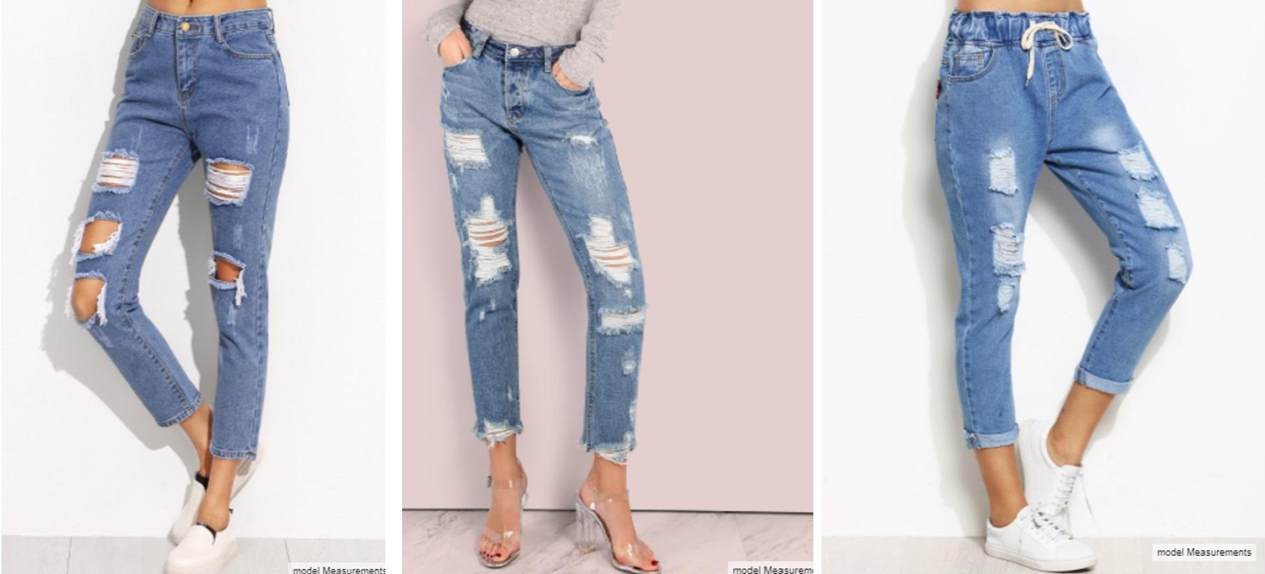 Tendência Jeans Destroyed 1