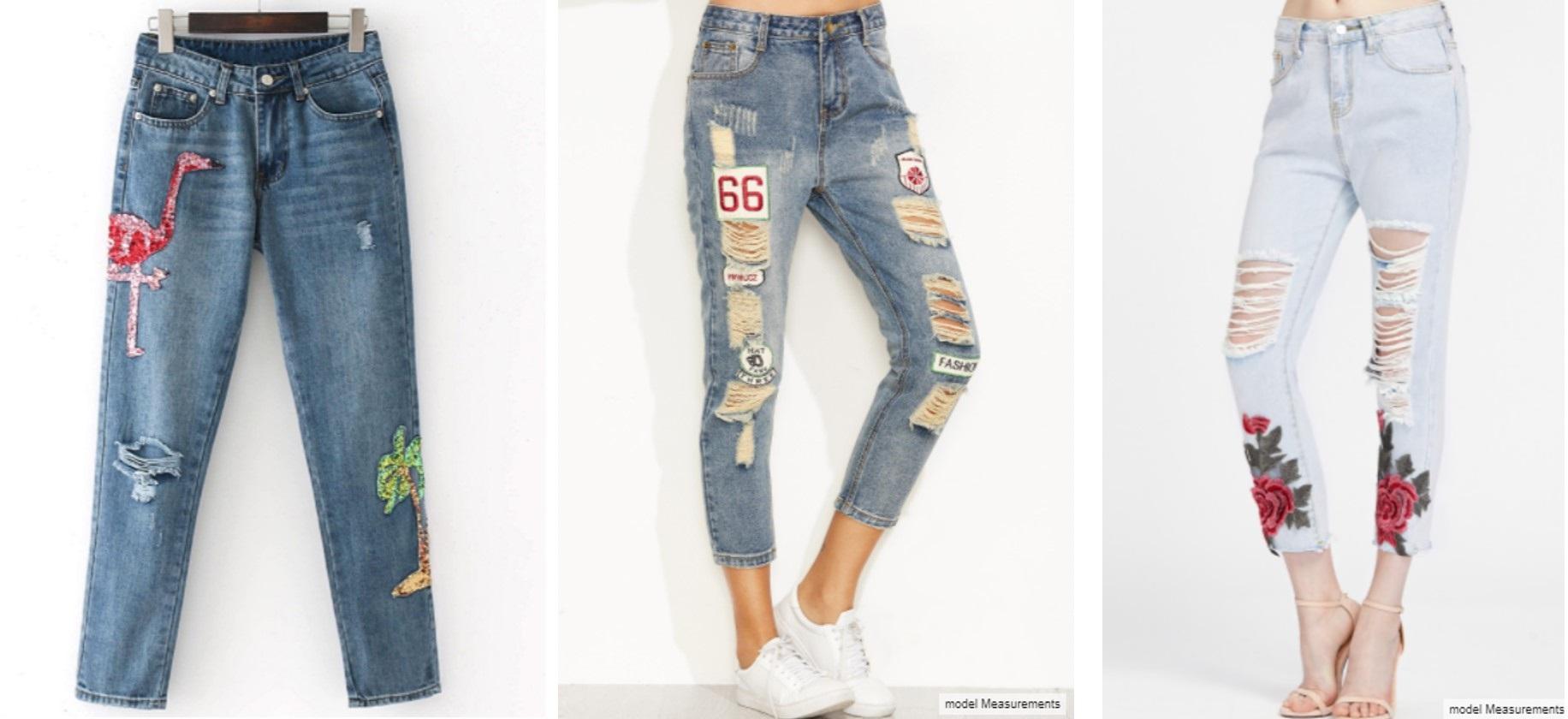 Tendência Jeans Destroyed 2