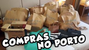 Vlog Compras no Porto 2