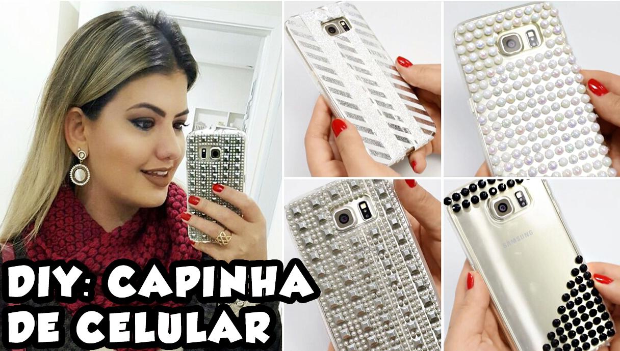 DIY Capinha de Celular
