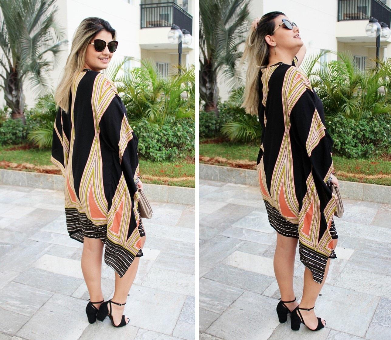 Look Kimono Shein 2