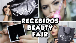RECEBIDOS DA BEAUTY FAIR