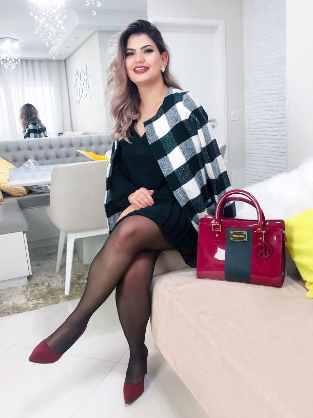 Look casaco xadrez (5)