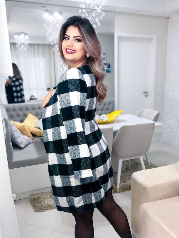 Look casaco xadrez (7)