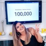 100 mil inscritos