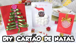 DIY CARTÃO DE NATAL