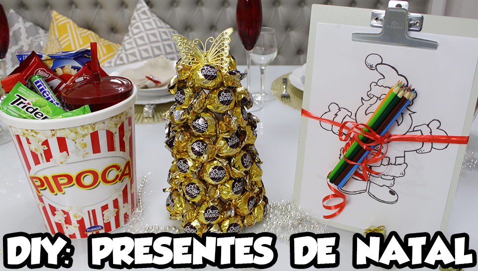 DIY Presentes de Natal